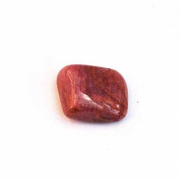 LOVELY RUBELLITE - PINK TOURMALINE TUMBLESTONE 1.6 x 1.3 cms 3.70 gms